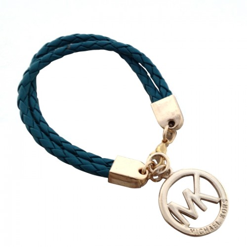 Michael Kors Braided Logo Blue 056 Bracelets