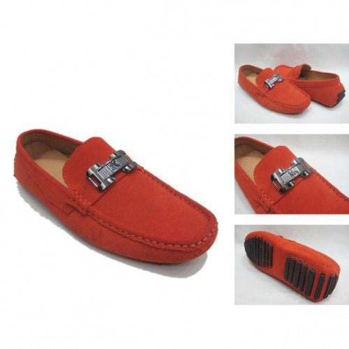 Michael Kors Suede Logo Flat Large Red 009 Shoes