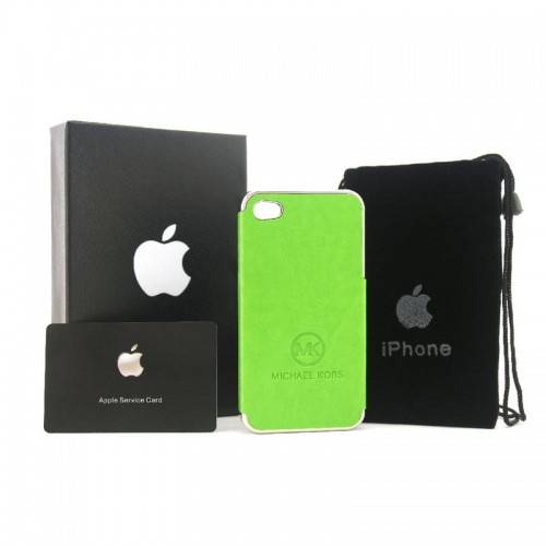 Michael Kors Logo Green 005 iPhone 4 Cases