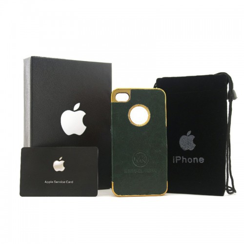 Michael Kors Logo Green iPhone 4 Cases
