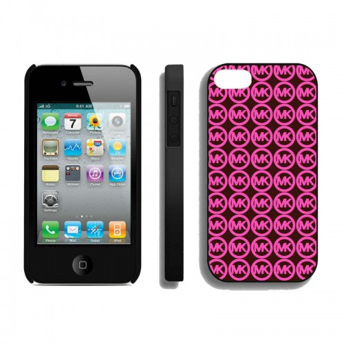 Michael Kors Logo Monogram Pink iPhone 4 Cases