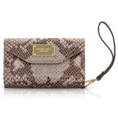 Michael Kors Python Large Beige iPhone 4 Cases