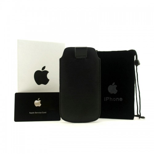Michael Kors Saffiano Black iPhone 4 Cases