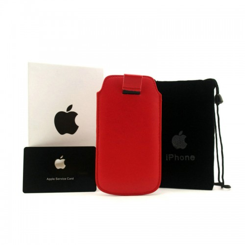 Michael Kors Saffiano Red iPhone 4 Cases