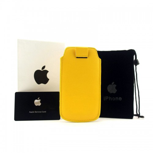 Michael Kors Saffiano Yellow iPhone 4 Cases