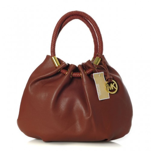 Michael Kors Marina Large Brown Drawstring 001 Bags