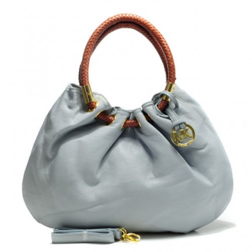 Michael Kors Marina Large Grey Drawstring Bags