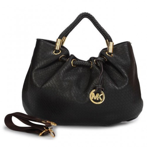 Michael Kors Ring Medium Black Drawstring Bags