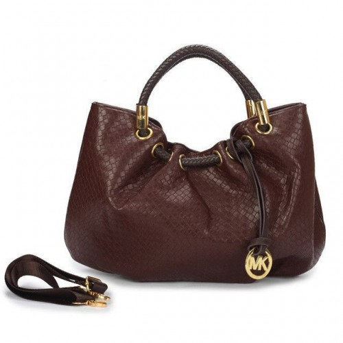Michael Kors Ring Medium Coffee Drawstring Bags