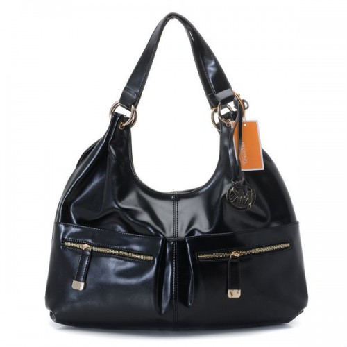 Michael Kors Blake Zip-top Large Black Hobo