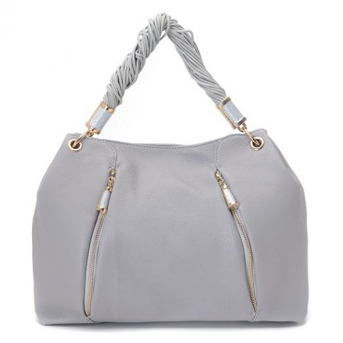 Michael Kors Pearlized Large Grey 002 Hobo