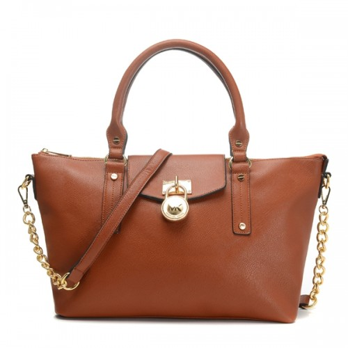 Michael Kors Hamilton Medium Slouchy Satchel Luggage