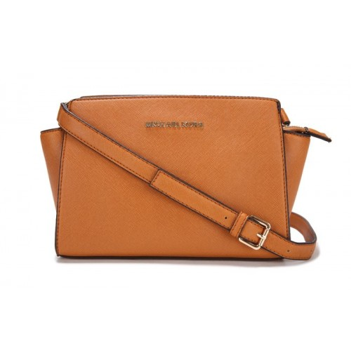 Michael Kors Selma Mini Messenger Brown