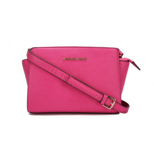Michael Kors Selma Mini Messenger Plum