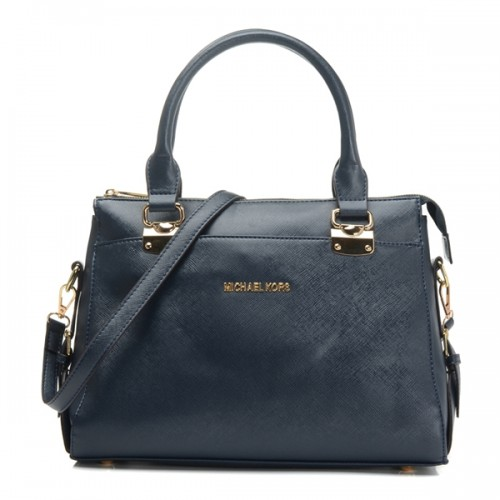 Michael Kors Top-Zip Satchel Black