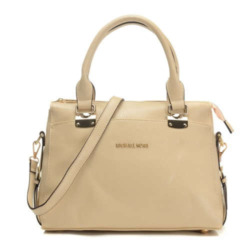 Michael Kors Top-Zip Satchel Light Yellow