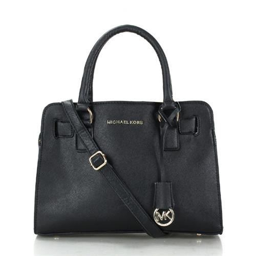Michael Kors Dillon Medium Black Satchels