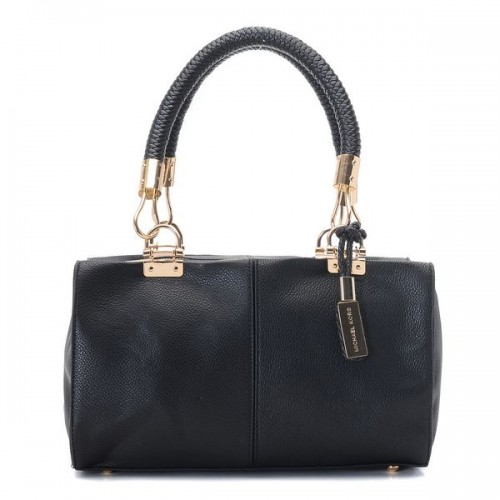 Michael Kors Skorpios Zip-Top Satchel Black