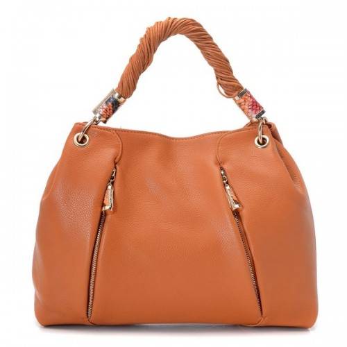 Michael Kors Tonne Hobo Barley Leather Golden