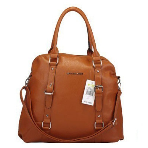 Michael Kors Bowling Large Brown Satchels