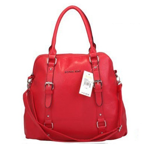 Michael Kors Bowling Large Red Satchels