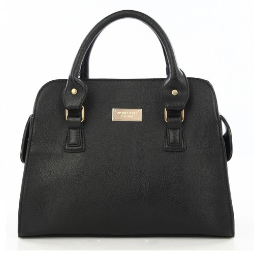 Michael Kors Gia Leather Large Black 001 Satchels