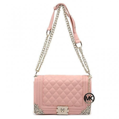 Michael Kors Sloan Chain Large Pink 006 Shoulder Bags