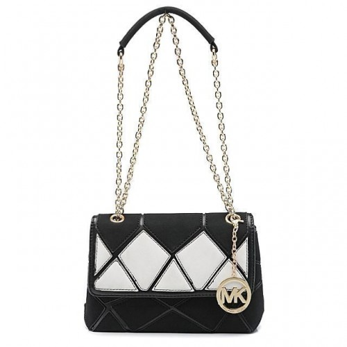Michael Kors Sloan Large Black Shoulder Bags