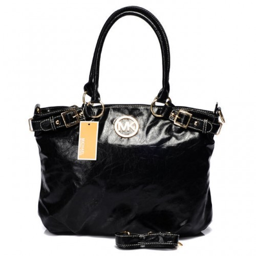 Michael Kors Logo Large Black All Totes