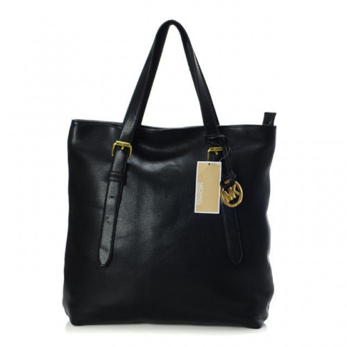 Michael Kors Amangasett Straw Large Black ALL Totes