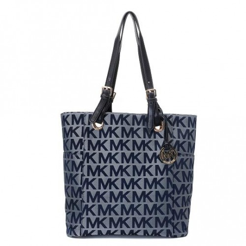Michael Kors Jet Set Logo Large Grey 03 Totes