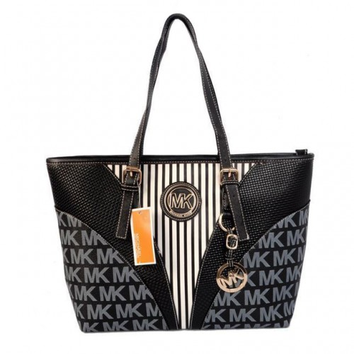 Michael Kors Jet Set Travel Large Black Totes