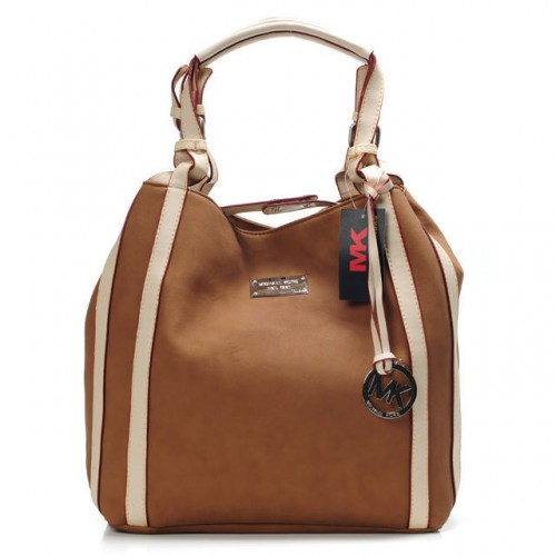 Michael Kors Marina Large Brown Totes