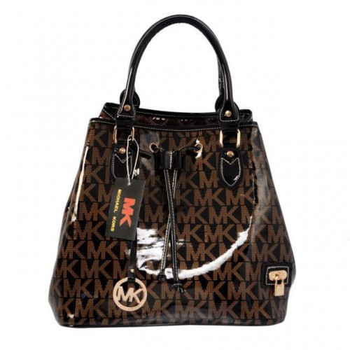 Michael Kors Logo Large Coffee Totes