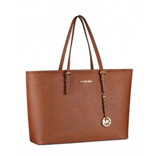 Michael Kors Jet Set Travel Tote Luggage Leather