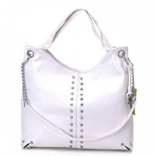 Michael Kors Ring Large White Totes