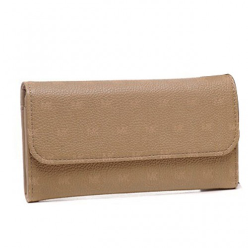 Michael Kors Envelope Logo Large Beige Wallets