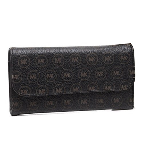 Michael Kors Envelope Logo Large Black 2013 Wallets