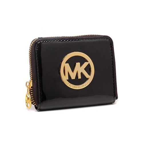 Michael Kors Jet Set Continental Large Coffee Wallets