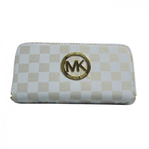 Michael Kors Logo Continental Large Yellow Wallets