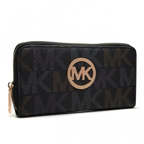 Michael Kors Logo Large Black 012 Wallets
